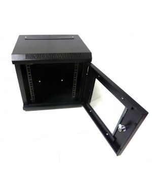 "6U 10"" Black 300MM Data Cabinet/Network Rack"