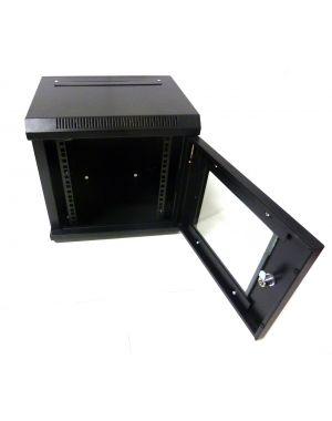 "6U 10"" Black 300MM Data Cabinet/Network Rack"