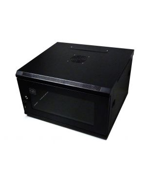 6U 550mm Black Data Cabinet/Network Rack