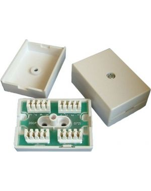 Terminal Block 77A Inline IDC Coupler Phone Junction Box