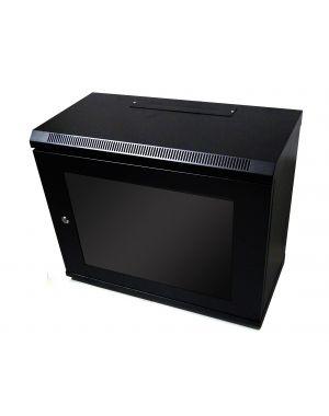 9U 450mm Black Data Cabinet/Network Rack