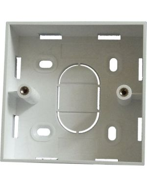 21mm (depth) Single Gang Wall Mount Backbox