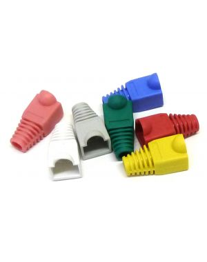 Rubber RJ45 Anti Snag Boots in 9 Colours