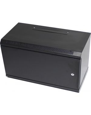 6U 300mm Blank Metal Door Black Data Cabinet/Network Rack Without Glass