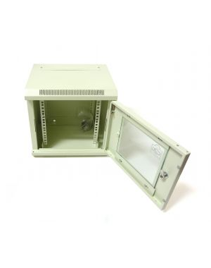 "6U 10"" White 300MM Data Cabinet/Network Rack"