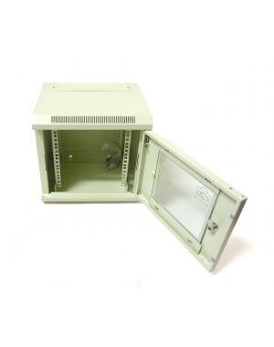 "6U 10"" White 300MM Data Cabinet/Network Rack"