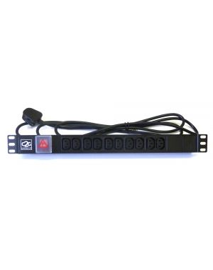10 Way IEC Horizontal Power Distribution Unit PDU