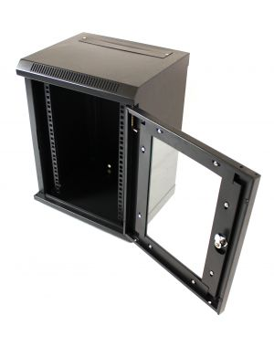 "9U 10"" Black 300MM Data Cabinet/Network Rack"