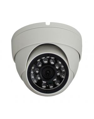 720P IP Camera HI3518E+OV9712 in White