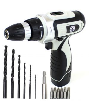 PowerLynx 12V Compact Cordless Lithium Ion Drill