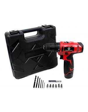 Dual Speed 12V Cordless Compact Drill Electric LI-ION Rechargeable