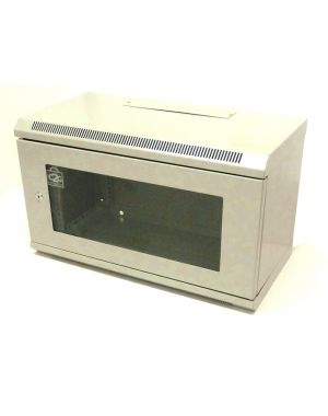 6U 300mm White Data Cabinet/Network Rack