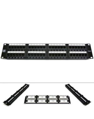"19"" 48 Port Category 6 Patch Panel"