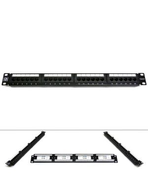 "19"" 24 Port Category 6 Patch Panel"