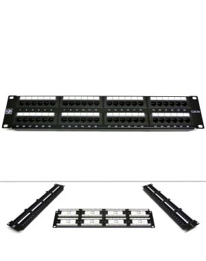 "19"" 48 Port Category 5e Patch Panel"