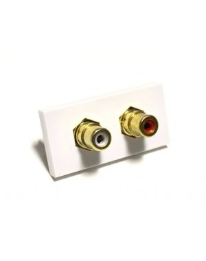 Ready Made Phono Composite Audio Media Module 25x50mm