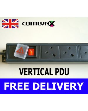 Power Distribution Unit 4 Way Vertical UK PDU